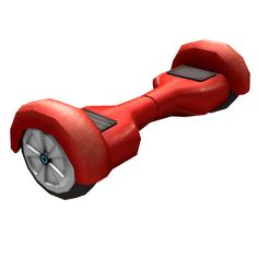 Red Rolling Hoverboard - ROBLOX