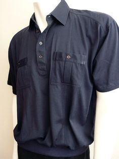 Vintage Apparel Men's 80's Shirt Navy Blue Pull by Freshandswanky, $14.00