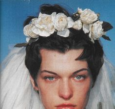 Milla Jovovich by Terry Richardson for Dazed & Confused 1999.