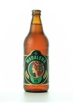 Cerveja Madalena IPA, estilo India Pale Ale (IPA), produzida por Cervejaria Premium Paulista, Brasil. 7% ABV de álcool.