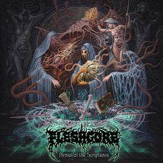 "[CRÍTICAS] FLESHGORE (UKR) ""Denial of the scriptures"" CD 2016 (Xtreem Music)"