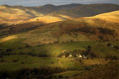 The view from the path up to Wansfell Pike - Lake District
