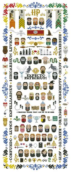 Contemporary cross-stitch patterns for real fans. Here you find the most exciting cross stitch patterns of your favorite characters of TV, movies, cartoons etc.. We are happy to make custom patterns of your choice upon request. Anything: even your family and your pets!