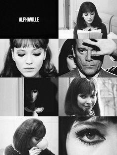 Alphaville. Jean-Luc Godard. #film #movies #cinematography