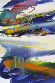 Museum Of Contemporary Art, Modern Art, Abstract Expressionism, Abstract Art, Drip Painting, Art Programs, Mural Art, Large Wall Art, Art Techniques