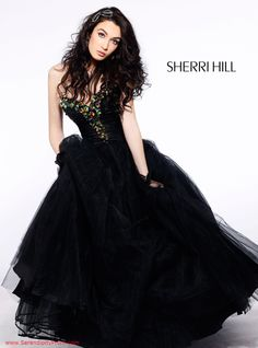 Sherri Hill Prom ball gown available at Serendipity $550