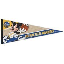WinCraft Golden State Warriors Disney Mickey Mouse Vertical Flag 28 x 40 inches 1 sided print