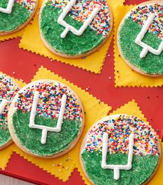 Big Win Goal Post Cookies