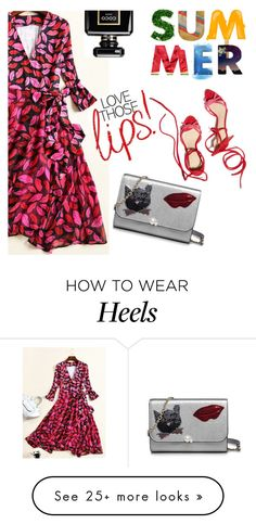 """""""Lip Dress"""" by metisu-fashion on Polyvore featuring Chanel"""