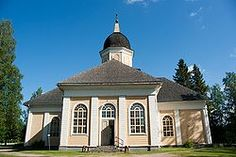 Jakob Rijfin rakentama Hyrynsalmen kirkko, jossa Johan Snellman oli kirkkoherrana. Grave Monuments, Finland, Gazebo, Graveyards, Outdoor Structures, Mansions, Architecture, House Styles, Design