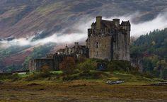 Castles in Scotland | Eilean Donan Castle in Scotland, named after Irish Saint, Bishop Donan ...