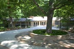 Compton Gardens Conference Center. Home of Dr. Neil Compton converted to conference center. Gardens and trails around the home. Great for corporate meetings and retreats as well as weddings, luncheons, etc. E. Fay Jones design. Student of Frank Lloyd Wright.