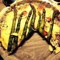 New Healthy Pizza Idea: Flax Seed Pizza Crust ! / Nowy Zdrowy Pomysł na Pizze: Ciasto z Siemienia Lnianego !
