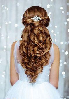 Elegant bridal hairstyles for long hair (69)
