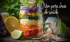 """Post para o blog do Supermercado SuperPrix sobre salada em pote: """"Salada em pote, uma opção saudável e prática"""". Clique na imagem e veja o texto na íntegra."""