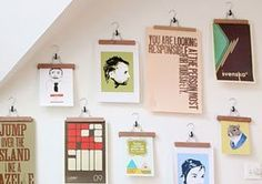 ways to hang art