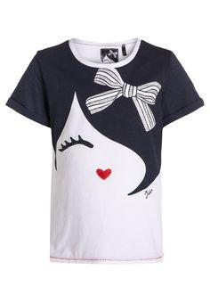 IKKS T-shirt imprimé - blanc optique - ZALANDO.FR
