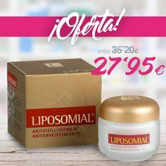 La crema de #LiposomialAntienvejecimiento ayuda a reestructurar, tensar, reafirmar e hidratar la piel de la zona facial, ayudando a combatir los detalles visibles de la edad.