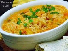 Receitas de pecados no prato: Arroz de tamboril com miolo de camarão #tamboril #arrozdetamboril