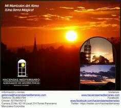La fábrica de atardeceres se prepara para vivir su evento más esperado por sus habitantes y visitantes. Manizales, ciudad bella y encantadora abrirá sus puertas del 6 al 13 de Enero para disfrutar de su maravillosa Feria de Manizales.  RESERVA TU ALOJAMIENTO CON HACIENDAS Y VIAJES MEDITERRÁNEO.  www.haciendasmediterraneo.com gerencia@haciendasmediterraneo.com Celulares: 3216436013 - 3103731265  Torres Panorama, Local 214 Manizales, Caldas - Colombia.