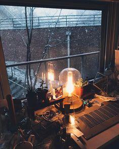 Edison Glass Cloche Table Lamp from World Market | c a t c r e a t u r e (@pyperbleu)