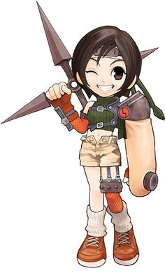 Chibi Yuffie from Final Fantasy VII