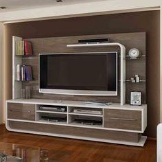 Latest 40 Modern tv wall units - TV cabinet designs for living rooms 2019 Tv Cabinet Design, Tv Wall Design, Design Design, Tv Unit Decor, Tv Wall Decor, Tv Wall Panel, Armoire Tv, Modern Tv Wall Units, Living Room Tv Unit Designs