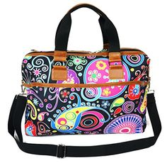 Meffort Inc 19 Inch Printed Canvas Luggage Sports Duffel Bag  Travel Carry on Bag  Art Design * Click image to review more details.