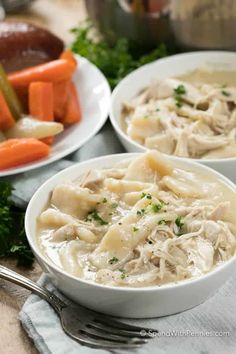 Old Fashioned Chicken and Dumplings Crockpot Recipes, Soup Recipes, Chicken Recipes, Cooking Recipes, Turkey Recipes, Dinner Recipes, Cooking Ideas, Wonton Recipes, Recipes