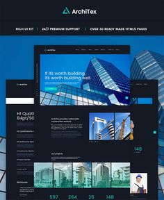 #Construction #Company #HTML #Responsive #Website #Template.This template is the most pleasing way of creating an online construction company website. This template is available all over the world and from any known device. Discover the vast diversity of customization offered by our highly responsive design. A collection of handy widgets will help you manage the site. Need to share photos with your clients? No problem! Setting up a gallery has never been easier. Feel like sharing your…
