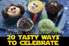 May 4th is Star Wars Day. May the 4th be with you! Now it's time to celebrate. One way to celebrate is with some tasty food. You won't find food this good at The Mos Eisley Cantina! Check out these 20 Tasty Ways to Celebrate Star Wars Day. Can you destroy thisDeath Star Watermelon? Yoda …