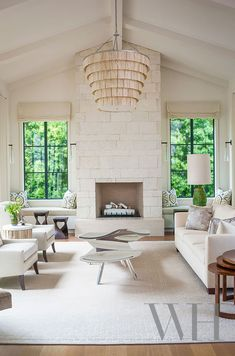 Sophisticated cottage living room