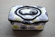 Mod Dots Boutique Style Nursery Wipe Case by LauraLeeDesigns108