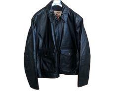 Vintage Italy, Vintage Tops, Vintage Men, Leather Men, Black Leather, Leather Jacket, Aviator Jackets, Vintage Jerseys, Lace Camisole