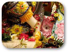 Today's Special Darshan (Sri Krishna Janmashtami) Lotusfeet of Sri Krishna @ISKCONNVCC, Pune