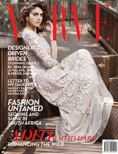 Aditi Rao Hydari - Verve Magazine Cover [India] (September 2014)