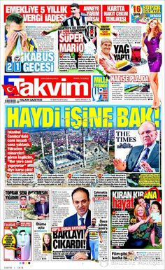 #20160510 #TürkiyeHABER #TURKEY #TurkeyTodayNEWSpapers20160510 Tuesday MAY 10 2016 http://en.kiosko.net/tr/2016-05-10/ + http://www.trthaber.com/foto-galeri/gazete-mansetleri-10-mayis-2016/10395/sayfa-10.html <+> #TAKVIM20160510 http://en.kiosko.net/tr/2016-05-10/np/takvim.html
