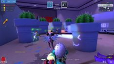 MicroVolts Surge is Free-to-play, Third-Person Shooter FPS, MMO Game featuring dynamic cartoon style graphics and intense fast-paced gameplay.