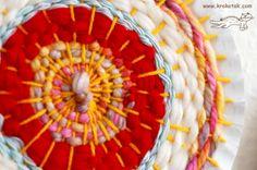 paper plate loom