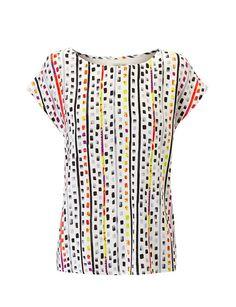 Camiseta m/c colorines.