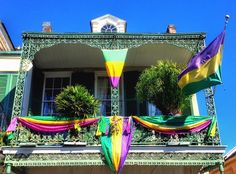 I've got a fever and the only prescription is more Mardi Gras!  #architecture #beautifulnola #beautifulday #carnival2016 #carnival #carnivaldecor #carnivalfever #carnivaltime #followyourmardigras #followyournola #frenchquarter #humpday #ironwork #localnolapic #mardigras2016 #mardigras #mardigrasdecor #mardigrasfever #moraapproved #purplegreengold #showmeyournola #thisisnola #vieuxcarre #wearenola by davidnola