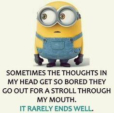 Top 30 Minions Humor Quotes #funniest minions