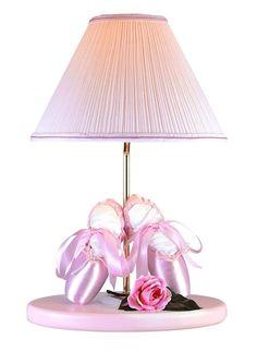 Lite Source Inc. Ballerina Ballerina Table Lamp in Pink Finish Pink