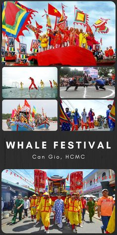 In most Vietnamese fishing villages, whales are considered venerable beings, capable of saving sailors from drowning at sea and bring about calm weather for fishing. Thus, fishermen hold a big festival each year, usually in the fifth month of the lunar calendar, to pay tributes to the whales and wish for ludicrous sail-outs. The festival is specifically lively in Can Gio, HCMC with live music and many traditional games/contests! Beautiful Vietnam, Traditional Games, Fishing Villages, Ho Chi Minh City, Sailors, Whales, Tour Guide, Live Music, Calendar