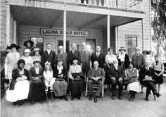 Orange County Historical Society meeting at the Laguna Beach Hotel, Laguna Beach, CA. Orange County California, Southern California, San Luis Obispo County, Destin Beach, Beach Hotels, Laguna Beach, Historical Society, Historical Photos, History