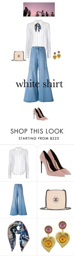 """where the young dream belongs to"" by fanfan-zheng ❤ liked on Polyvore featuring Chloé, Kenzo, Chanel, Vivienne Westwood, Vintage and WardrobeStaples"