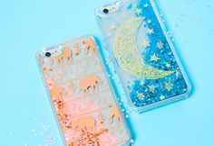 Glam Up Your Tech With Liquid Fill Cases