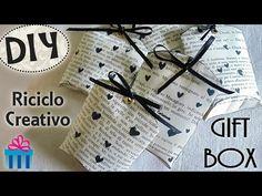 Tutorial: Creare Scatoline con i Rotoli della Carta Igienica |Riciclo Creativo| DIY Vintage Gift Box - YouTube