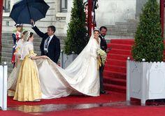 Boda Real de Sus Majestades los Reyes Felipe VI y Letizia. Madrid, Capital del Reino de España 24-05-2004