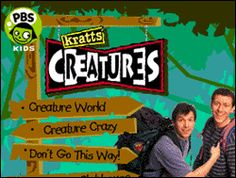 Before Wild Kratts and Zoboomafu there was the best version of a Kratts brothers show on PBS: Kratt's Creatures.